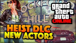 GTA 5 Online Heist NEW Characters & Heist DLC Actors (GTA 5 Gameplay)