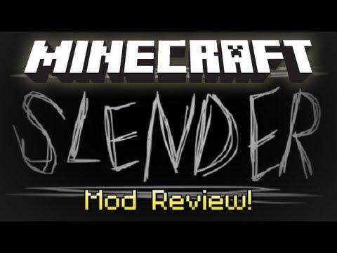 Minecraft : SLENDER MOD!