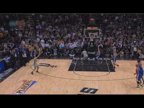 Manu Ginobili Game Winning 3 pointer Spurs-Warriors Game 1