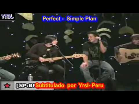 Simple Plan - Perfect  ( Subtitulado  Ingles EspaÑol ) video