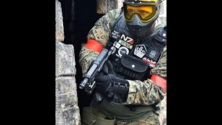 Magfed Paintball: ODIL MFOG 4 - TiPX shooting first strike laserz