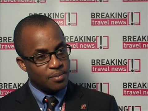 Jason Baptitse,Trinid ad & Tobago speaks with BTN @ WTM 2008