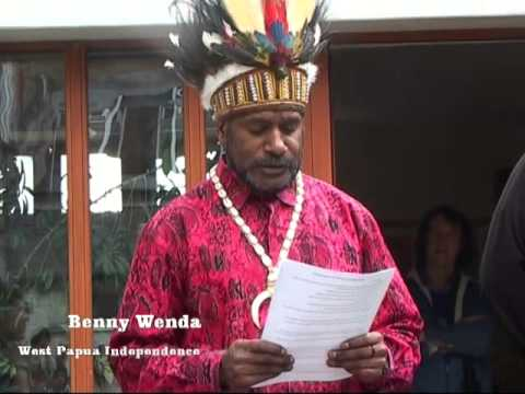Opening New Office Free West Papua Campaign Oxford 2013 video