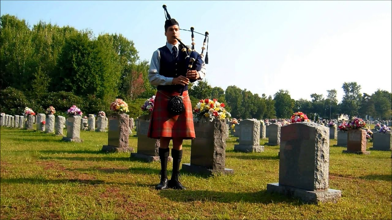 Funeral Bagpipes Going Home