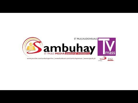 Sambuhay TV Mass Holy Thursday (A) - April 17, 2014