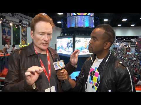 Conan O'Brien and The Flaming C at Comic-Con 2011