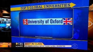 U.S. News & World Report ranks global universities