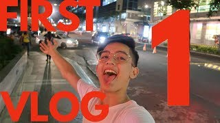 MY FIRST VLOG