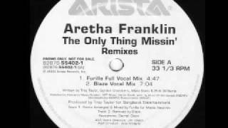 Watch Aretha Franklin The Only Thing Missin