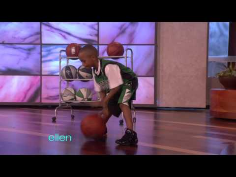 Amazing Basketball Kid!