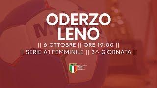 Serie A1F [3^ giornata]: Oderzo - Leno 32-29