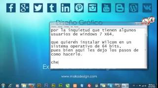 como instalar Wilcom Embroidery Studio e1 5 en windows 7 x64 parte 1