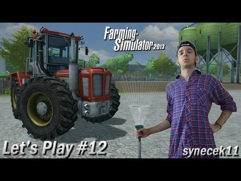 Farming Simulator 2013 ► Let's Play Česky ► #12 ► Není pro nás problém zalévati sklizeň ► synecek11