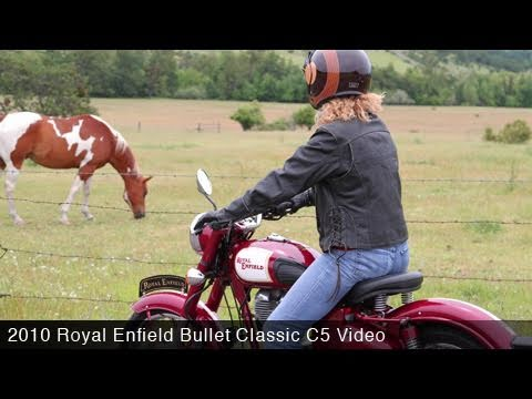 MotoUSA 2010 Royal Enfield Bullet Classic C5 Review