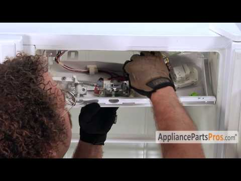 Refrigerator Thermostat (part #2198202)-How To Replace