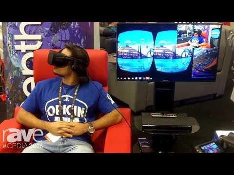 CEDIA 2016: Lightspeed Design DepthQ Demos Virtual Reality Plus DBOX