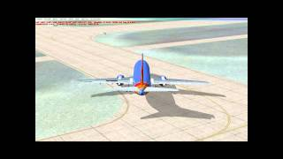 FSX Southwest Airlines Flight 3336 Ontario californa to las vegas