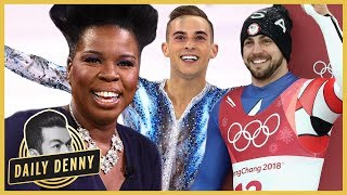 Leslie Jones Deserves a Gold Medal for Her Team USA Winter Olympics Commentary | Daily Denny