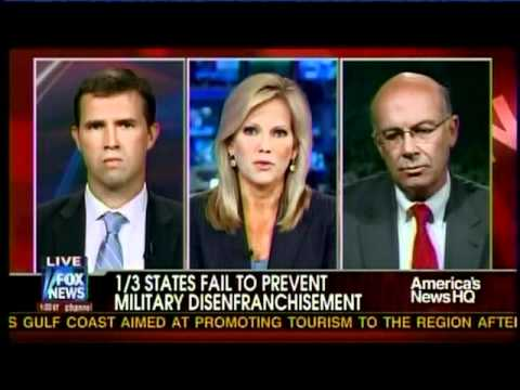 Sen. Cornyn Interview on Fox News on Problems with Overseas Military Voting 8-15