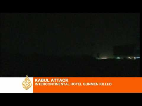 Deadly attack on Kabul hotel 'ends'