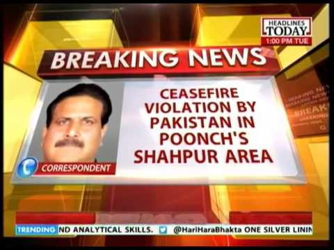 Pakistan violates ceasefire once more: Poonch's Shahpur area