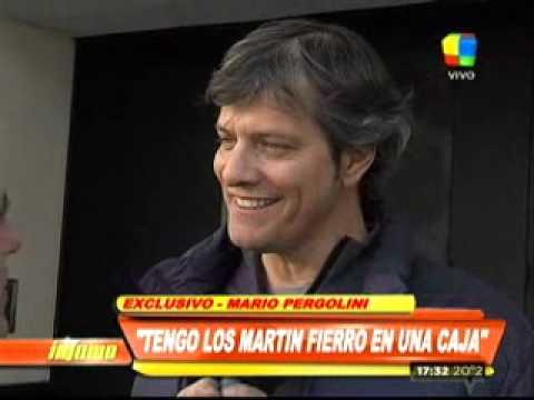 Mario Pergolini: Se puede comprar un juez, ¿no se va a poder comprar un Martín Fierro?