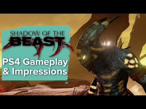 Shadow Of The Beast Remake - Ps4 Gameplay & Impressions video