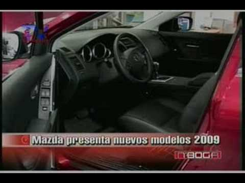 Mazda presenta nuevos modelos 2009