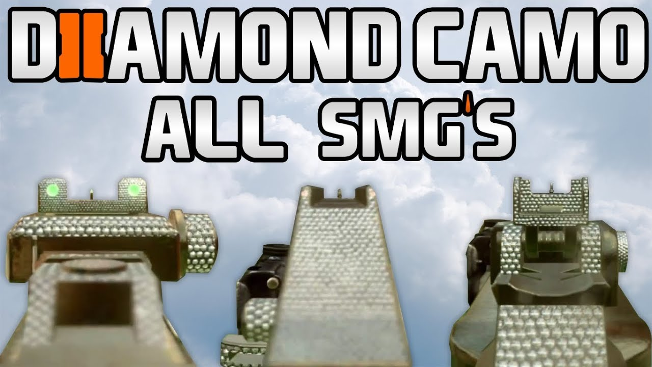 Scorpion Black Ops 2 Black Ops 2 Diamond Camo Smgs