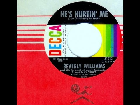 Beverly Williams (Gary Usher) - HE'S HURTIN' ME (Gold Star Studio) (1965)