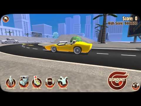 Turbo Dismount - Lane Merger