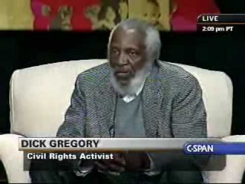 Dick Gregory apologizes to the first Black President