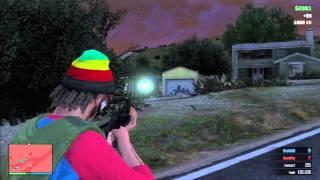 GTA Online - AK-47 Deathmatch Gameplay!