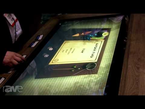 InfoComm 2013: MultiTouch Demos the SUR40 Interactive Display Software Compatibility