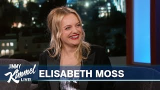 Elisabeth Moss on Oprah, Handmaid's Tale & Embarrassing Old Clip