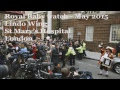 Royal Baby Watch LIVE - outside the Lindo Wing London