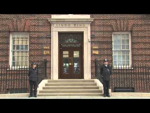 Royal Baby 2015 - First look at new Princess in Duchess of Cambridge's arms
