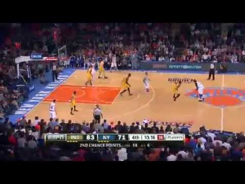 Indiana Pacers Vs New York Knicks - NBA Playoffs 2013 Game 1 - Full Highlights 5/5/13