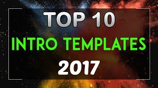 Top 10 Free Intro Templates 2017 Sony Vegas Pro 13 14 Download + No Plugins