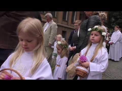 Boże Ciało W Parafii Maryi Królowej W Poznaniu 2016