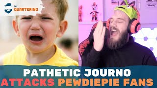 "PewDiePie Fans BLAMED For His Leaving! Calls Them ""Unbelievably Annoying"" In MisQuote"