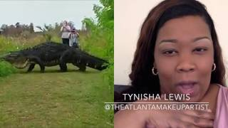 15 FOOT 800 POUND ALLIGATOR FOUND IN FLORIDA | THINGS I HATE #1