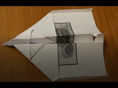 Papir repülő készítése gyerekeknek (How to fold a world record paper airplane)
