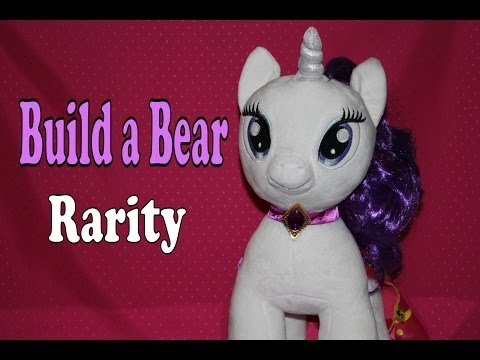 Build A Bear: Rarity My Little Pony FiM - Review