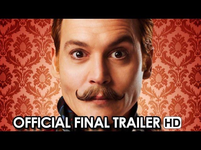 MORTDECAI Official Final Trailer (2015) - Johnny Depp Movie HD