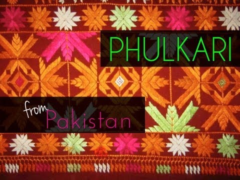 Punjabi Phulkari from Pakistan  The Dastkar South Asia Bazaar...