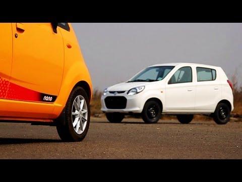 Comparison: Tata Nano v/s Maruti Suzuki Alto800