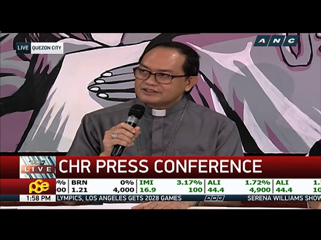 Caloocan bishop seeks CHR's help amid drug war concerns