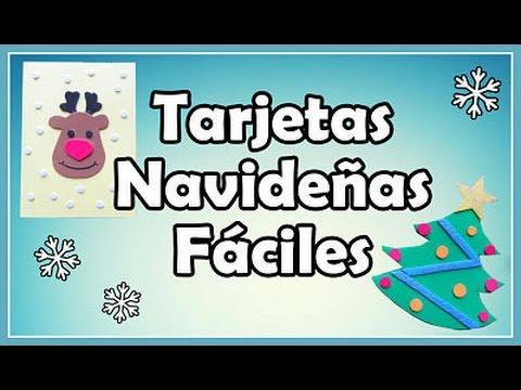 Como hacer tarjetas navide as con goma eva foami youtube - Crear christmas de navidad ...