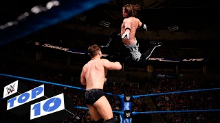 Top 10 SmackDown LIVE moments: WWE Top 10, Feb. 7, 2017